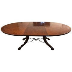 Emanuel Morez Galloway Dining Table and Two Extensions