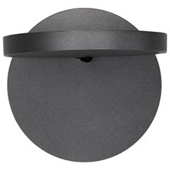 Artemide Demetra Wall Spot Light Without Switch in Anthracite Grey