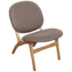 """Swedish 1950s Side Chair Produced by Jio Mobler, Model """"Jylland"""""""