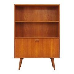 Teak Bookcase Vintage Danish Design Retro