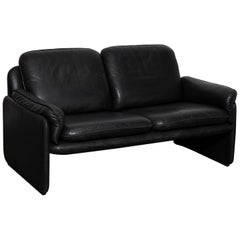 Original Black Leather Recliner Chair from De Sede, Model DS-50, Switzerland