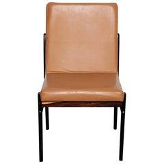 Rare Jorge Zalszupin Rosewood Framed Brazilian Dining Chair