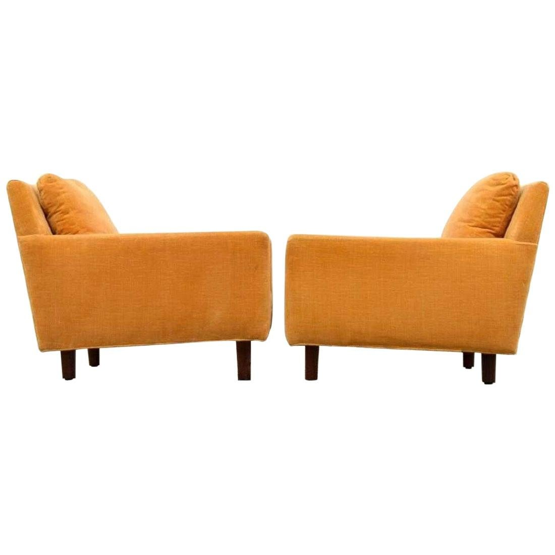 Pair of Lounge Chairs by Milo Baughman