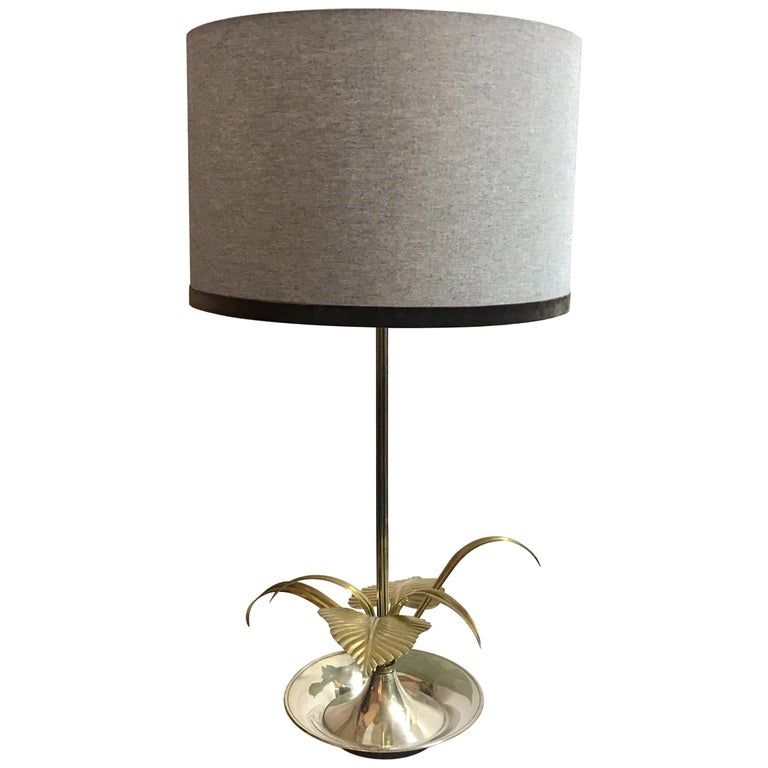 20th Century Flower Table Lamp For Sale