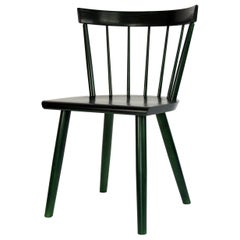 Colt Low Back Side Chair, Contemporary Windsor Chair