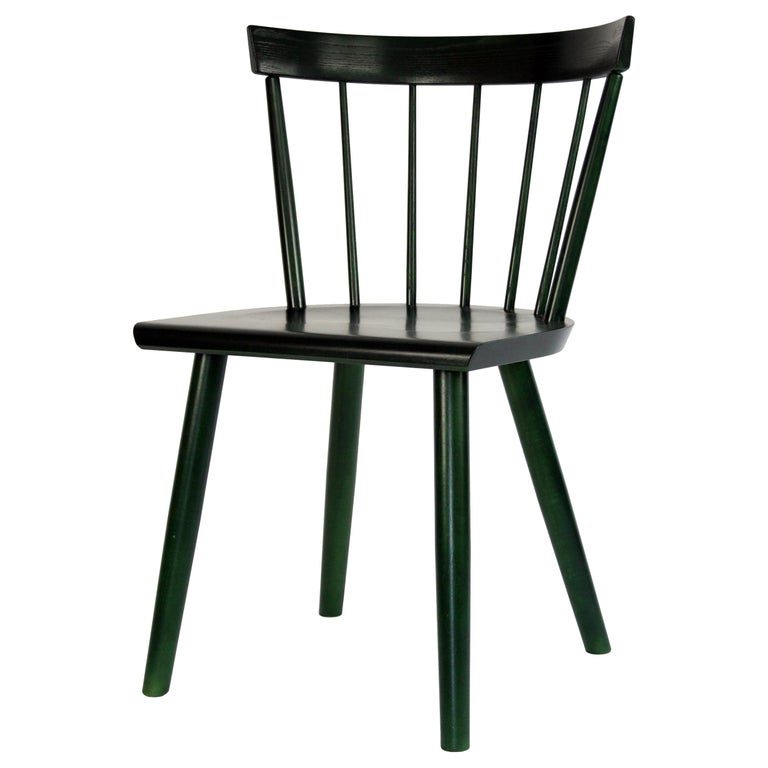Colt Low Back Side Chair, Contemporary Windsor Chair For Sale