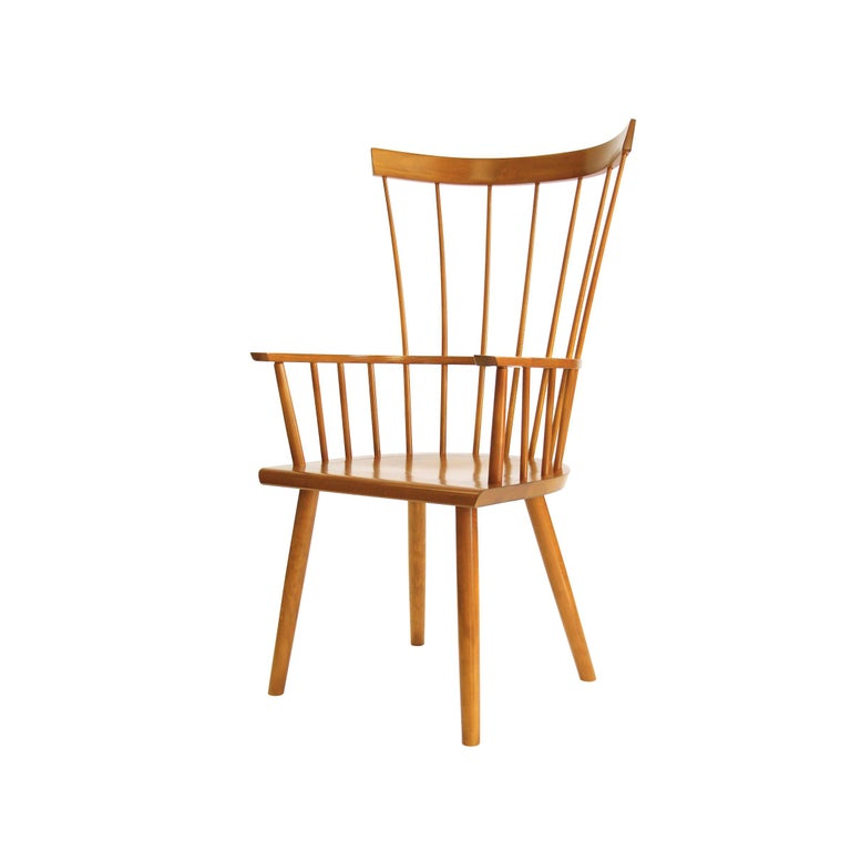 Colt High Back Armchair, Contemporary Windsor Chair For Sale