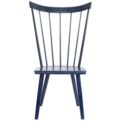 Colt High Back Side Chair, Contemporary Windsor Chair