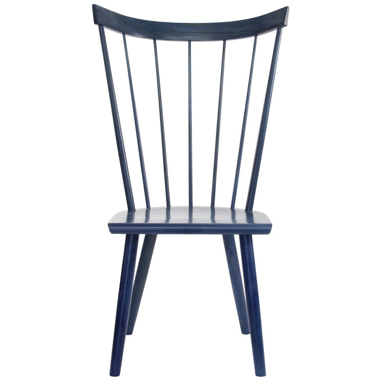 Colt High Back Side Chair, Contemporary Windsor Chair For Sale