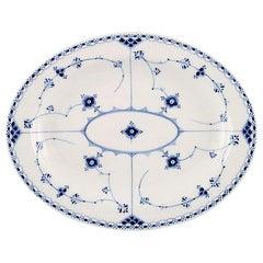 Royal Copenhagen Blue Fluted Half Lace Serving Dish # 1/533