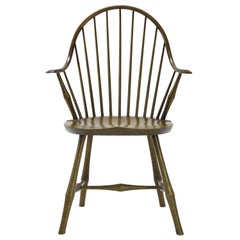 Wayland Elbow Chair, Contemporary Windsor Chair