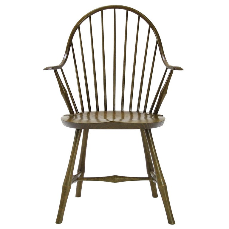 Wayland Elbow Chair, Contemporary Windsor Chair For Sale