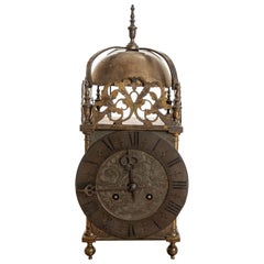 Victorian Striking Lantern Clock by Peerless of England