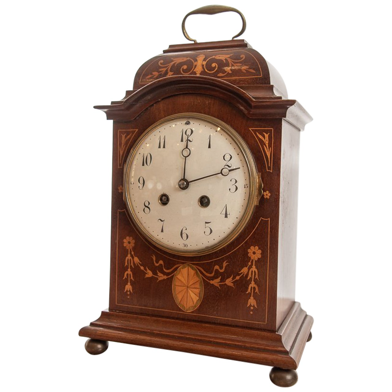 French 8 Day Striking the Hours Mantel Clock by Japy Freres