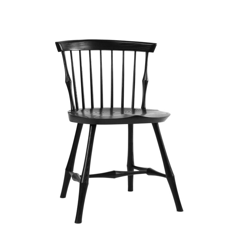 Wayland Low-Back Side Chair or Windsor Chair For Sale