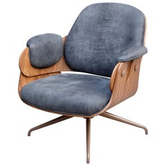 Jaime Hayon, Contemporary, Leather Upholstery Low Armchair