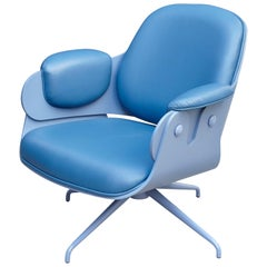 Jaime Hayon, Contemporary, Blue Low Lounger Armchair