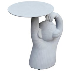 Jaime Hayon, Contemporary, Concrete Grey Side Monkey Table