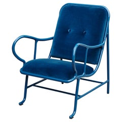 Jaime Hayon Contemporary Blue Gardenias Indor Armchair