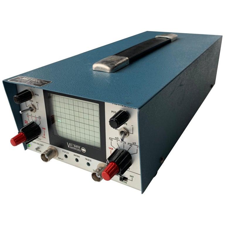 VU DATA Corporation Series PS121 Mini-Portable Oscilloscope For Sale