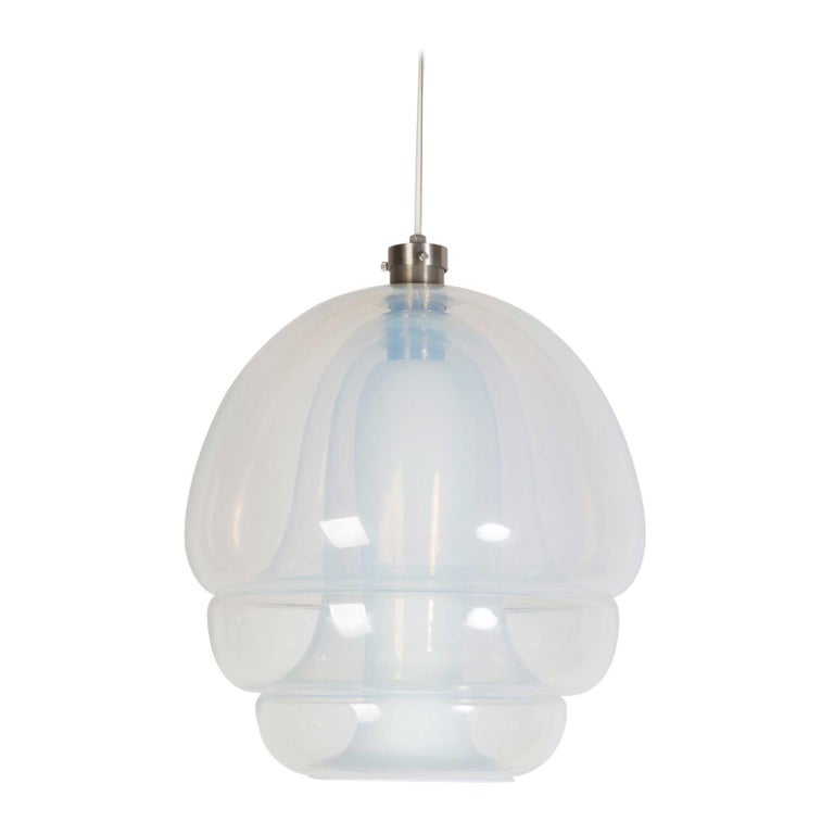 Murano Chandelier Hanging Pendant for Mazzega by Carlo Nason For Sale