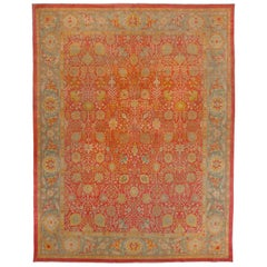 Superfine Antique Indian Agra Rug