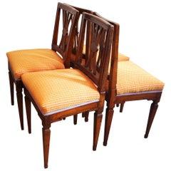 Antique Josephine Chairs, Set of 4