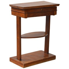 English Mahogany Writing Stand in the Neoclassical Taste