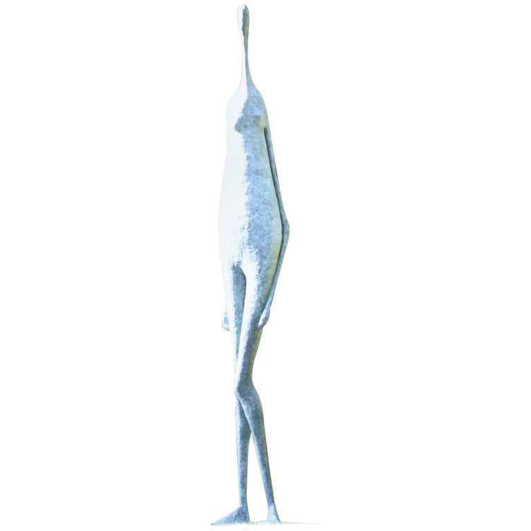 Monumental Standing Figure II, Large Outdoor Sculpture For Sale
