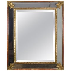 French 19th Century Giltwood Beveled Mirror