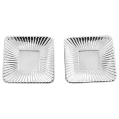 Pair of Art Deco Sterling Dishes
