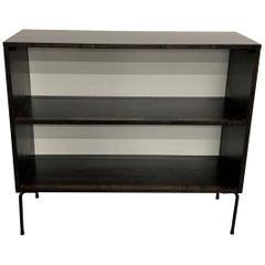 Ebonized Maple Open Bookcase by Paul McCobb