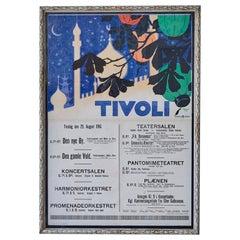 Vintage Tivoli Poster