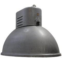 Spectre, James Bond Light, Gray Oval Vintage Industrial Pendant Lights (48x)