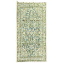 Malayer Rug in Pink Blue Green