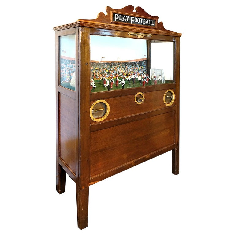 1926 Chester-Pollard Soccer Penny Arcade Game For Sale