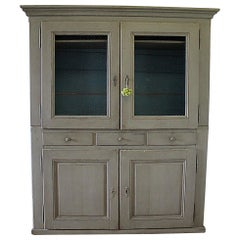 Early 20th Century European Farmhouse Style Cupboard