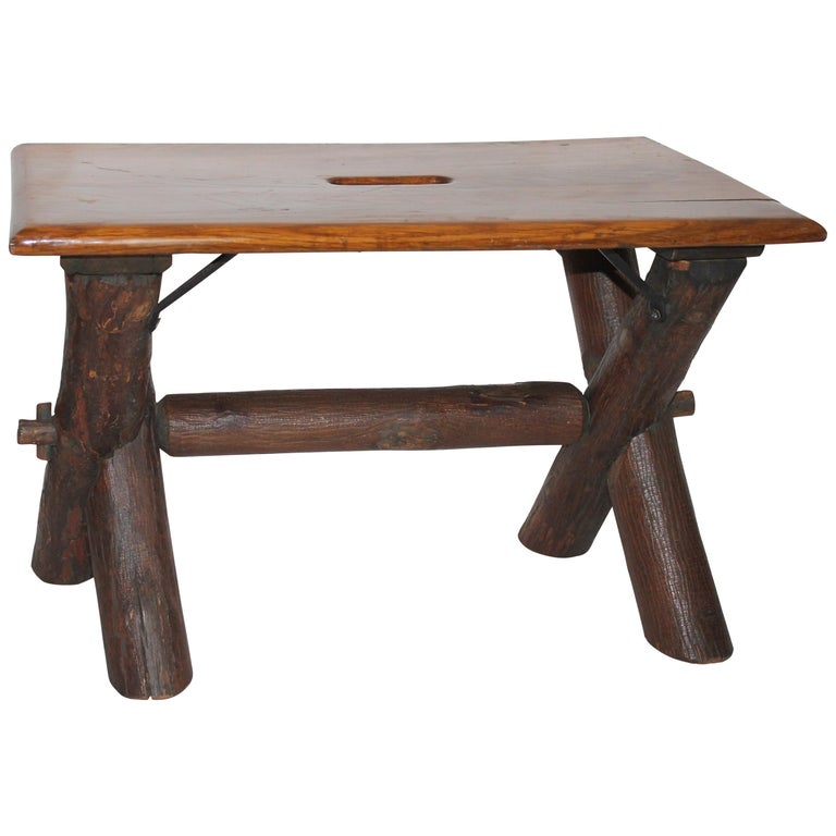 Old Hickory Co. Bench For Sale