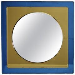 Antonio Lupi Mid-Century Modern Italian Mirror by Cristal Luxor, 1960s