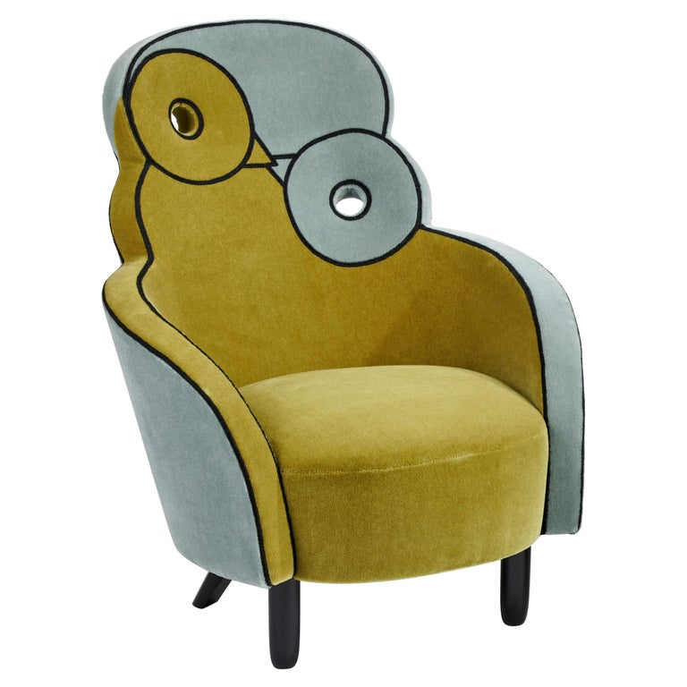 Maxous Armchair by Hubert le Gall For Sale