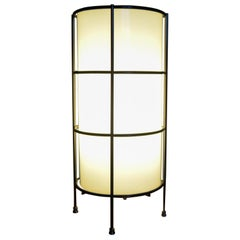 Glass and Iron Case Study Lamp by Artemide