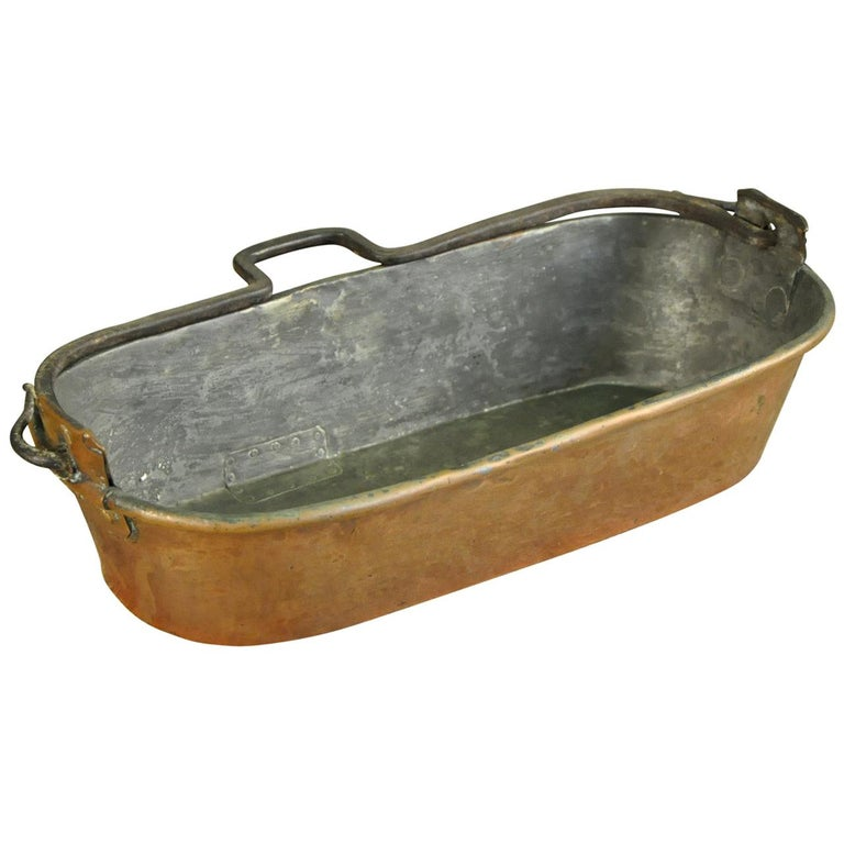 18th Century French Fish Pan For Sale