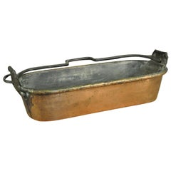 18th Century French Fish Pan