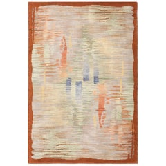 Vintage French Art Deco Rug