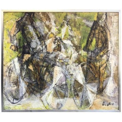 1961s Painting Bike by Kathleen Saywell Allen