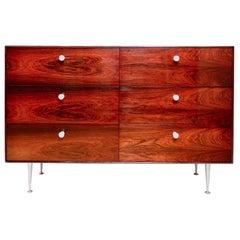 Mid-Century Modern Rosewood 6-Drawer Dresser, George Nelson for Herman Miller