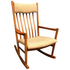 Danish Modern Teak Rocking Chair/Rocker