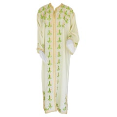 Moroccan Caftan Embroidered