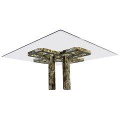 Custom Onyx Dining Table
