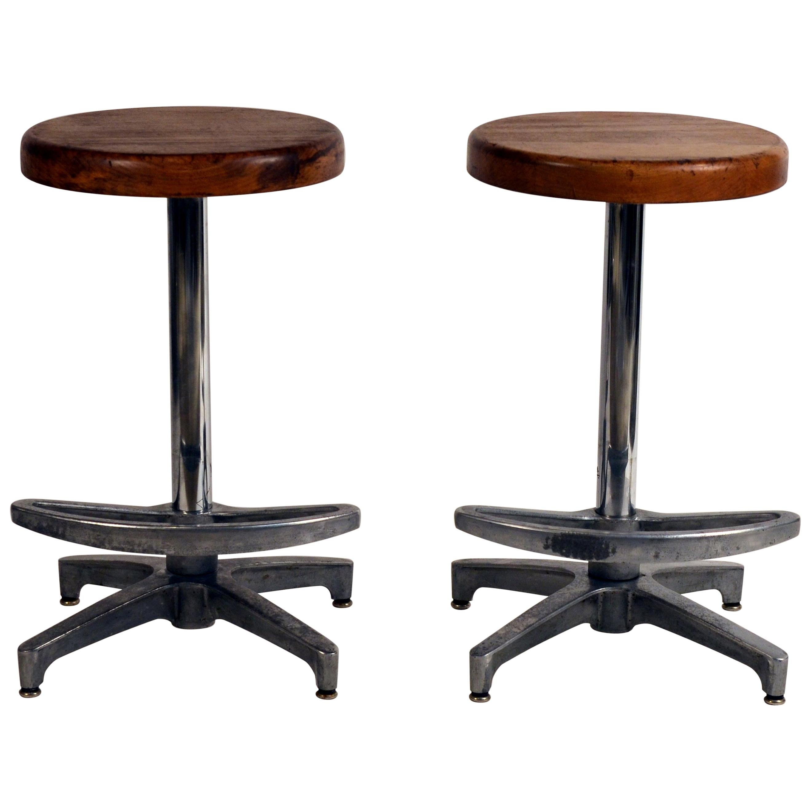 Amazing Maitland Smith Style Leather Counter Height Stools With Ocoug Best Dining Table And Chair Ideas Images Ocougorg
